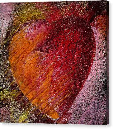 Passion Heart Canvas Print