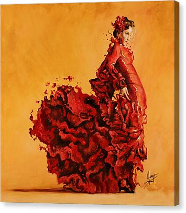 Moving Canvas Print - Passion by Karina Llergo