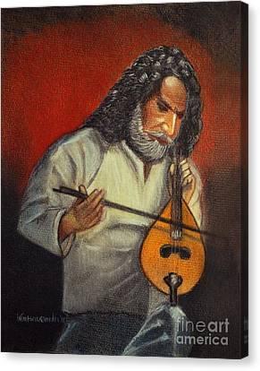 Passion Canvas Print by Kostas Koutsoukanidis