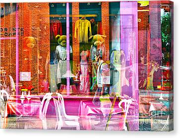 Passion Nyc Lower East Side Canvas Print by Sabine Jacobs