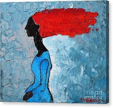 Passion Seeker Canvas Print by Ana Maria Edulescu