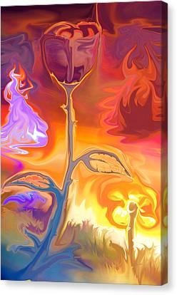 Passion Canvas Print by Sotiris Filippou