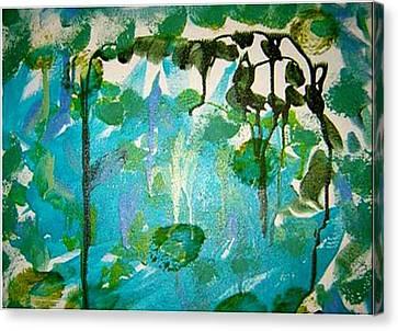 Passion Vine Canvas Print by Luz Elena Aponte