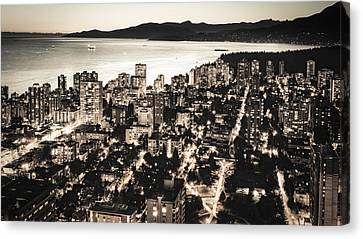 Passionate English Bay Mccclxxviii Canvas Print