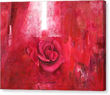 Passionately - Original Art For Home And Office Canvas Print