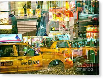 Manhattan Canvas Print - Passion Nyc 42nd Vanderbilt Ave. by Sabine Jacobs