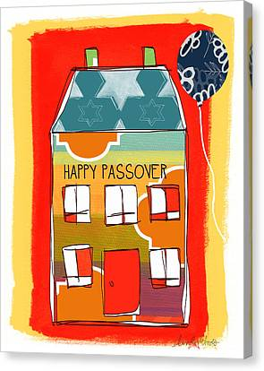 Passover House Canvas Print