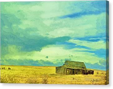 Past Canvas Print