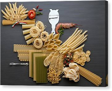 Pasta Canvas Print by R. Marcialis