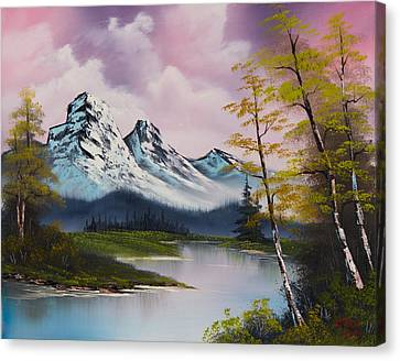 Pastel Fall Canvas Print by C Steele