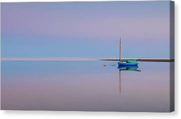 Cape Cod Bay Canvas Print - Pastel Morning by Bill Wakeley