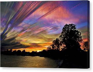Pastel Pallet Canvas Print by Matt Molloy