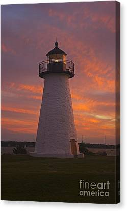 Pastel Sunset At Ned'spoint Canvas Print