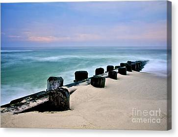 Pastel Waters Canvas Print by Mark Miller