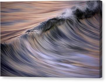 Pastel Wave  Mg2081 Canvas Print by David Orias