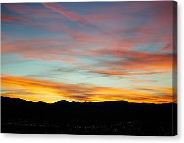 Pastell Night  Canvas Print by Kevin Bone