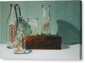 Pasteurized Canvas Print by Denny Bond