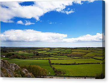 Pastoral View From The Sugar Loaf Rock Canvas Print by Panoramic Images