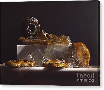 Donuts Canvas Print - Pastry by Larry Preston