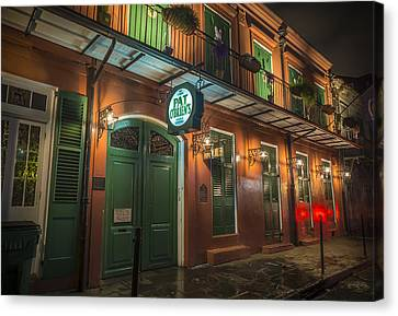 Pat Obriens New Orleans Canvas Print by David Morefield