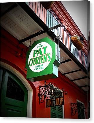 Pat O's Canvas Print by Beth Vincent