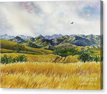 Canvas Print - Patagonia Just Down The Valley by Summer Celeste
