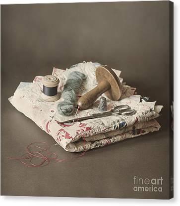 Patchwork Quilts Canvas Print - Patchwork by Jan Bickerton