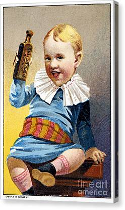 Patent Medicine, 19th C Canvas Print by Granger
