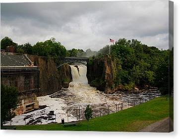 Paterson Great Falls Canvas Print