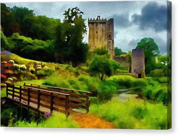 Path To Blarney Castle Canvas Print by Jeff Kolker