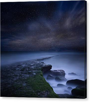 Path To Infinity Canvas Print