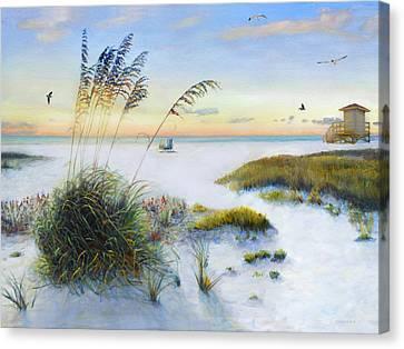 Siesta Key Canvas Print - Path To Siesta Key Beach by Shawn McLoughlin