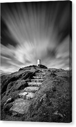 Path To Twr Mawr Lighthouse Canvas Print