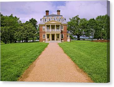 Pathway To Shirley Plantation Great Canvas Print