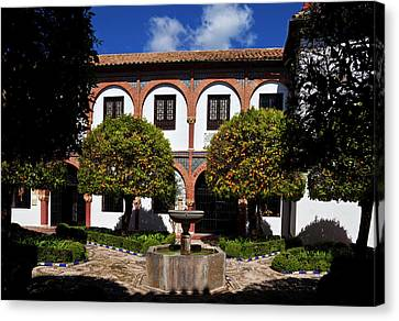 Patio Del Museo Cordobes De Bellas Canvas Print by Panoramic Images