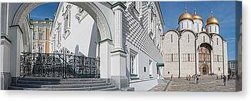 Patriarch Palace And Church Of The Canvas Print by Panoramic Images