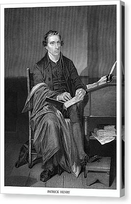 Orator Canvas Print - Patrick Henry by Historic Image