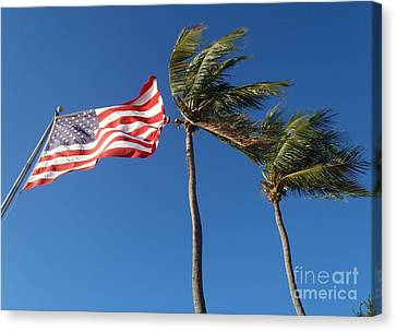 Patriot Keys Canvas Print