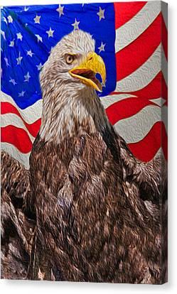 Patriot Canvas Print by Matthew Bamberg