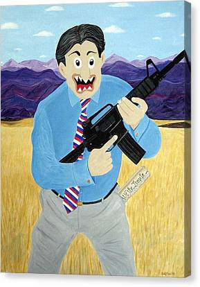 Patriot Canvas Print by Sal Marino