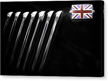 Canvas Print featuring the photograph Patriotic Thriller by Russell Styles