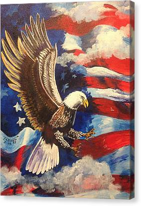Patriotism Canvas Print