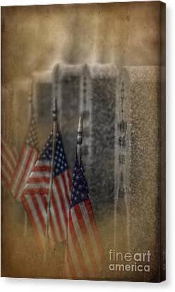 Patriots Pallet Canvas Print by The Stone Age