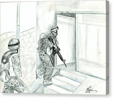 Patrol Canvas Print