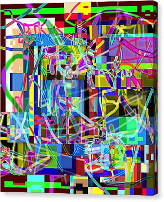 Order From Disorder Canvas Print - Patronizing Disorder Accomplishment 2013 by James Warren