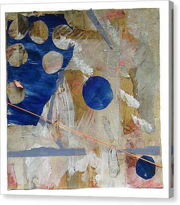 Pats Blue Canvas Print by Susan Parise