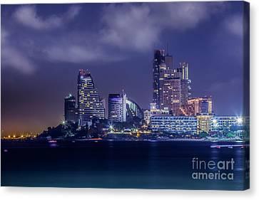 Pattaya City Beach  Canvas Print