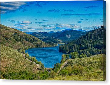 Patterson Lake In The Summer Canvas Print