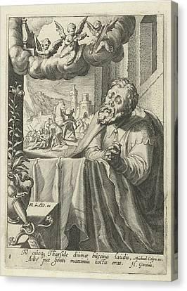 Paul As Repentant Sinner, Hugo De Groot, Michael Colyn Canvas Print by Artokoloro