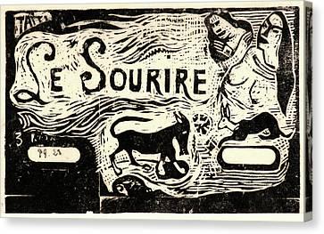 """Paul Gauguin French, 1848 - 1903. Titre Pour """"le Canvas Print by Litz Collection"""